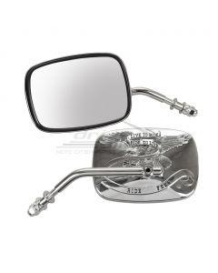 [EMGO] Зеркало универсальное LIVE TO RIDE 8 мм (Harley) левое