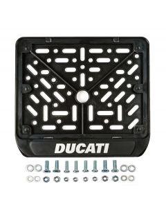 [GENERIC] Рамка для номера мотоцикла нового образца DUCATI