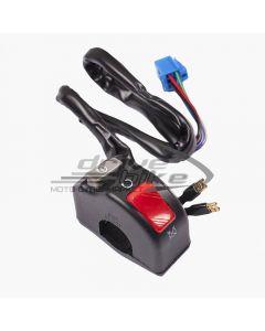 [KS TECHNOLOGIES] Тумблер (переключатель) вкл-выкл рулевой правый на основе HONDA 4C8-83975-00-00