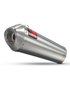 [SCORPION EXHAUSTS] Глушитель GSX-R1000 2009-2011 POWER CONE Стальной (нерж.)