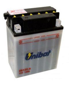 [UNIBAT] Аккумулятор YB12C-A (без электролита)