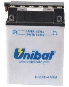 [UNIBAT] Аккумулятор YB14A-A1