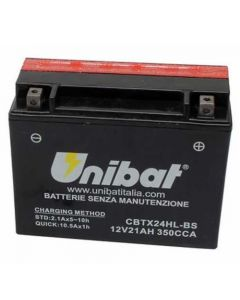 [UNIBAT] Аккумулятор YTX24HL-BS