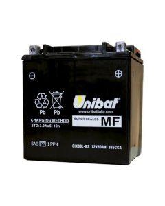 [UNIBAT] Аккумулятор YIX30L-BS