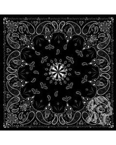 [ZAN] Бандана Black Paisley